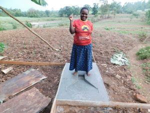 The Water Project:  New Latrine Base