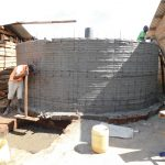 The Water Project: Immaculate Heart Secondary School -  Tank Construction