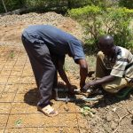 The Water Project: Nambilima Secondary School -  Placing The Tap
