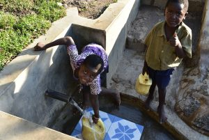 The Water Project:  Enjoying Fetching Water