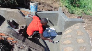 The Water Project:  Finishing Touches