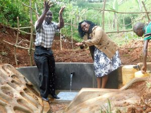 The Water Project:  Flowing Water