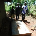 The Water Project: Shisere Community, Francis Atema Spring -  Finished Sanitation Platform