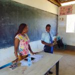 The Water Project: Musasa Secondary School -  Co Leading An Activity