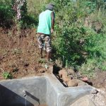 The Water Project: Musango Community, Mushikhulu Spring -  Finishing Touches