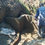 The Water Project: Mukhuyu Community, Kwawanzala Spring -  Spring Construction