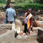 The Water Project: Sichinji Community, Makhatse Spring -  Construction