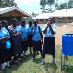 The Water Project: Musasa Secondary School -  Hanwashing Practice