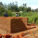 The Water Project: Munyanza Primary School -  Latrine Construction