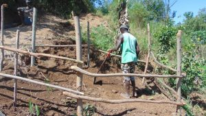 The Water Project:  Finishing The Fence
