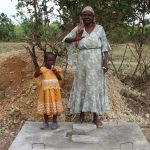 The Water Project: Mukhuyu Community, Kwakhalakayi Spring -  Sanitation Platform