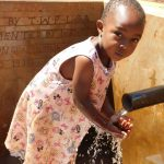 The Water Project: Shisere Community, Francis Atema Spring -  Water Flowing