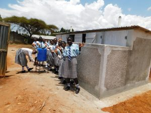The Water Project:  New Handwashing Station And Latrines