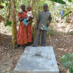 The Water Project: Musango Community, Mushikhulu Spring -  Finished Sanitation Platform