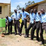 The Water Project: Nambilima Secondary School -  Handwashing Station