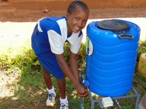 The Water Project:  Mercy At A Handwashing Station