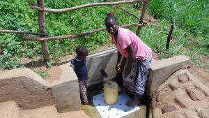 The Water Project:  Water Flowing