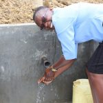 The Water Project: Mukhuyu Community, Kwakhalakayi Spring -  Flowing Water