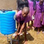 The Water Project: Munyanza Primary School -  Handwashing Station