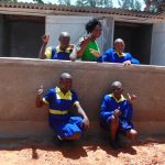 The Water Project: Essongolo Primary School -  Finished Latrines