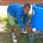 The Water Project: Kima Primary School -  New Handwashing Station