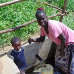 The Water Project: Musango Community, Mushikhulu Spring -  Water Flowing