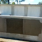 The Water Project: Munyanza Primary School -  Finished Latrines