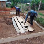 The Water Project: Musasa Secondary School -  Latrine Construction