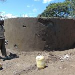 The Water Project: Ibwali Primary School -  Tank Walls Underway