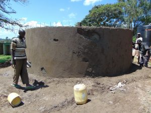 The Water Project:  Tank Walls Underway
