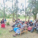 The Water Project: Munenga Community, Burudi Spring -  Active Participation