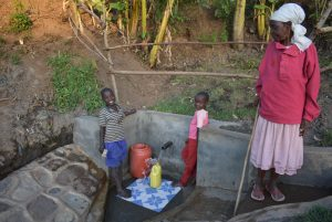 The Water Project:  Grandmother Watching Grandchildren