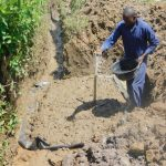 The Water Project: Eshiakhulo Community, Kweyu Spring -  Construction Begins