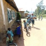 The Water Project: Mukangu Primary School -  Students Playing Outside On Break