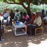 The Water Project: Musango Community, Mushikhulu Spring -  Training