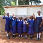 The Water Project: Kima Primary School -  Finished Latrines