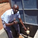 The Water Project: Essongolo Primary School -  Flowing Water