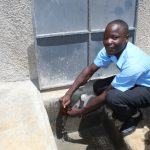 The Water Project: Nambilima Secondary School -  Flowing Water