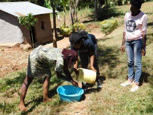 The Water Project:  Handwashing Teamwork
