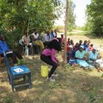 The Water Project: Mukhuyu Community, Kwawanzala Spring -  Water Handling Training