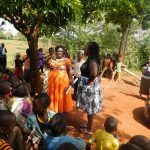 The Water Project: Mutao Community, Shimenga Spring -  Training