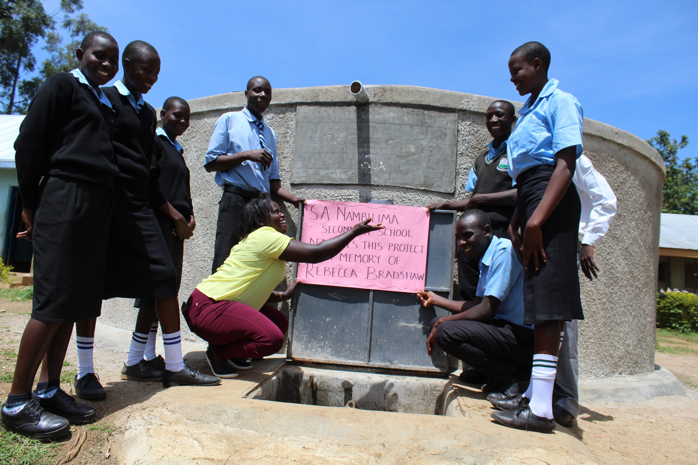The Water Project : 42-kenya19028-in-memory-of-rebecca