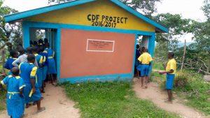 The Water Project:  Kenya Student Latrine