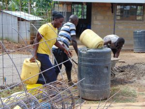 The Water Project:  Carrying Water For Cement