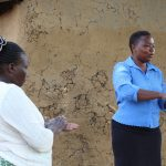 The Water Project: Mukhuyu Community, Kwakhalakayi Spring -  Handwashing Training