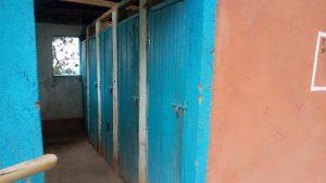 The Water Project:  Kenya Latrine Doors