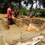 The Water Project: Ibwali Primary School -  Latrine Construction