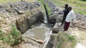 The Water Project:  Construction Begins