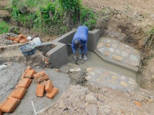 The Water Project:  Smoothing The Cement