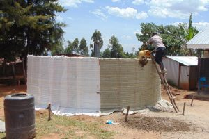 The Water Project:  Adding Cement